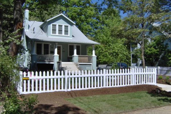 The American Dream Revisited The White Vinyl Picket Fence