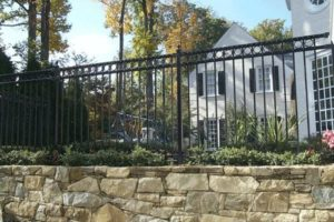Here are four tips for maintaining your aluminum fence.