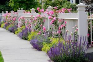 spring fence installation