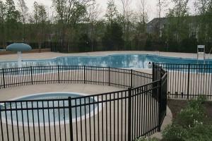Virginia Pool Fence