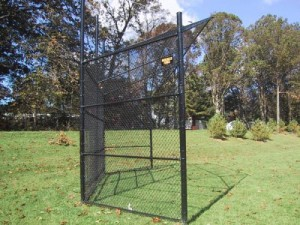 What is the Right Fence for a Baseball Backstop