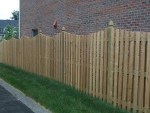 Wood Fence in Northern Virginia